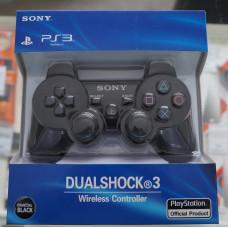 Джойстик для PS3 Dual Shock 3 (черный/коробка)