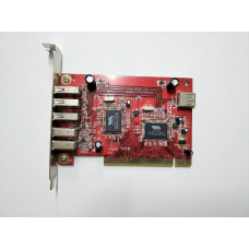 Плата расширения PCI 3xUSB/2x1394
